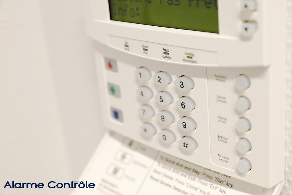 système d'alarme, code, sécurité par Alarme Contrôle