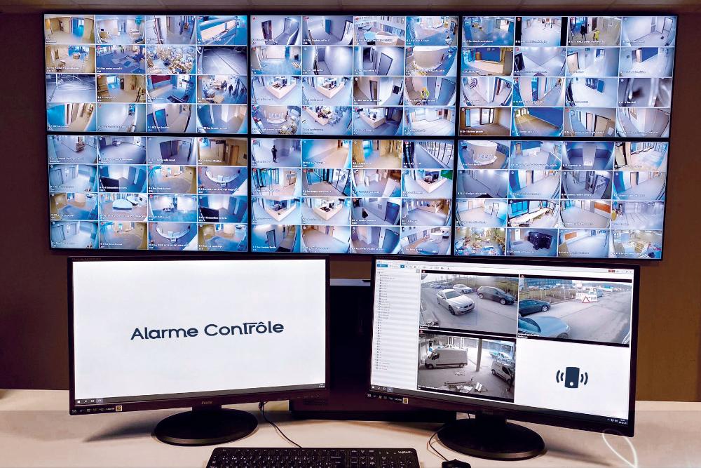 cameras surveillance, vidéosurveillance, alarme, sécurité bâtiment, maison Alarme Contrôle