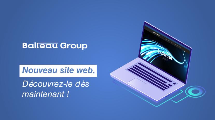 Balteau Group dévoile son nouveau site web !