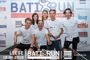 équipe Balteau Group jogging Batirun