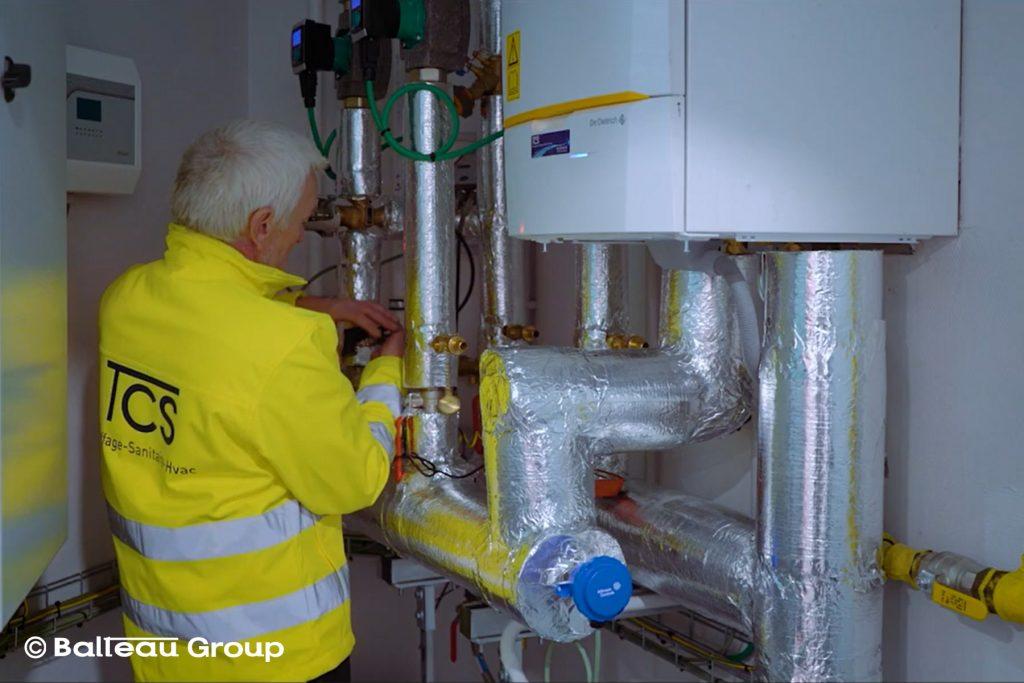 Technicien chauffage-sanitaire (h/f)