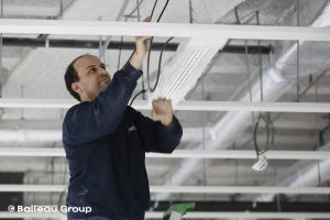 tirage de câble, électricien, électricité générale, électricité